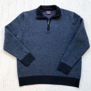 UNTUCKit   Merino Wool Sweater   Navy  XXL